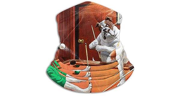 BaoBei-shop Perros jugando al billar Perro divertido Bufanda a ...
