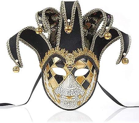 NICEWL Venecianas Mujer Máscara,Adultos Masquerade Máscara Cara ...