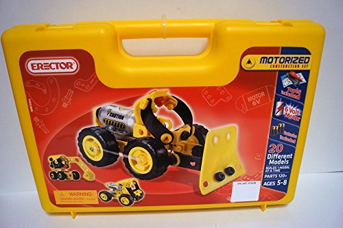 Erector Motorized Construction Set 20 Different Models