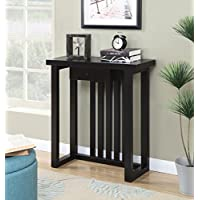 Convenience Concepts Newport Mission Console Table, Espresso