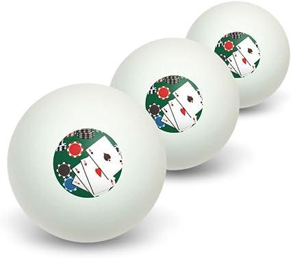 Póquer de ases – Tarjetas fichas Juego de tenis de mesa PING PONG ...