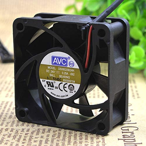 Cytom for Original AVC 6025 24v 0.25a 6CM 6cm 2-Wire Inverter Fan DS06025B24H