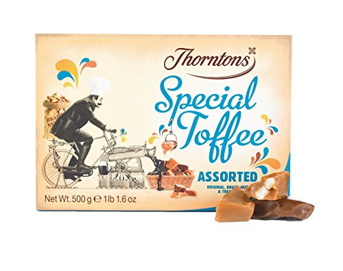 Thorntons Assorted Special Toffee Box (500g) (Pack of 2) (Chocolate Cake 500g)