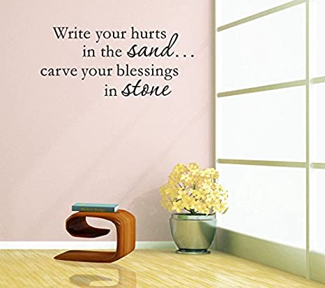 homemay PVC adesivi da parete Good frase inglese di scrivere in ...
