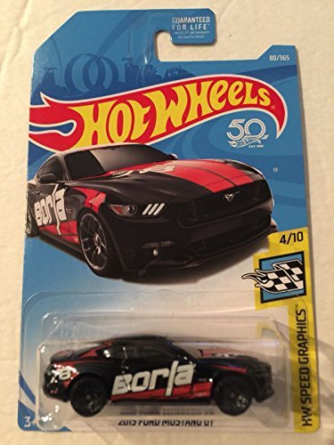 Hot Wheels  Th Anniversary  Ford Mustang Gt   Black
