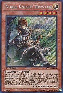 CARDBRAWLERS.COM Noble Knight Drystan JOTL-EN084 Secret Rare NM