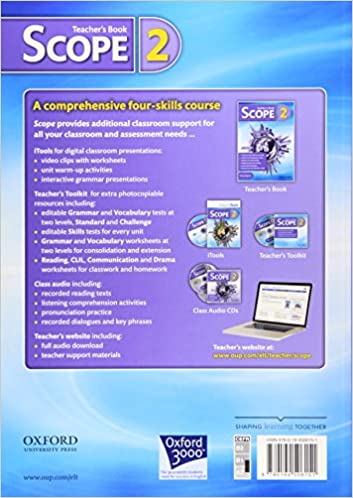 Scope: Level 2: Teacher's Book: 9780194506151: Amazon.com: Books