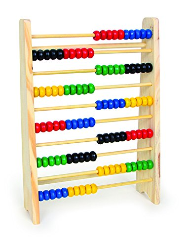 Legler 4022 Abacus 10 Rows Educational Toy