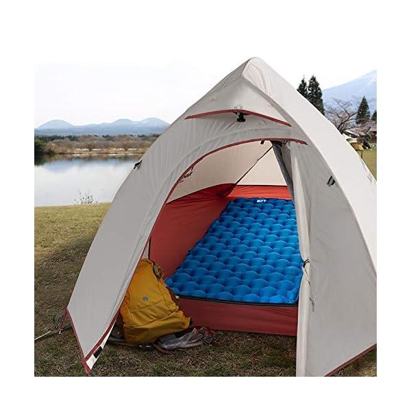 51n3W7lBa L BIFY Isomatte Camping Schlafmatte Ultraleicht Kleines Packmaß. Aufblasbare Luftmatratze für Outdoor Camping, Reise…