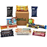 Healthy Snacks In-a-box Protein Energy Nutritional Bars – Care Package – Sampler Pack