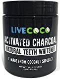 Activated Charcoal from LiveCoco 2.8Oz=300 uses (Made From Coconut Shells)| Activated Charcoal Powder | Activated Charcoal Teeth Whitening | Activated Coconut Charcoal | Activated Carbon |