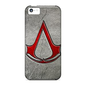 Protective Hard Phone Covers For Apple Iphone 5c With Unique Design High Resolution Assassins Creed Skin AshleySimms