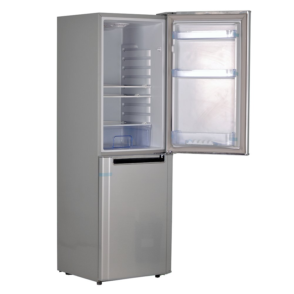 Smad Solar Energy DC/AC Powered Refrigerator Freezer Free Standing Fridge ,Low Voltage