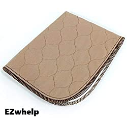 """EZwhelp - 47"""" x 47"""" - Machine Washable, Reusable Pee Pad/Quilted, Fast Absorbing Dog Whelping Pad/Waterproof Puppy Training Pad/Housebreaking Absorption Pads"""