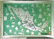 Rasca Mapas de Todos los Pueblos Mágicos de México - Mapa Rascable