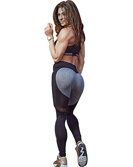 Scrox 1x Pantalones Mujer Leggins Deportivas Mujer Mallas ...