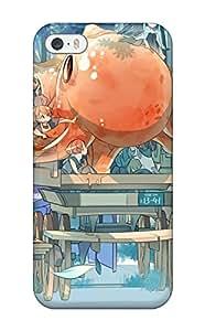 Best 6027781K804882618 original animal cat fish original Anime Pop Culture Hard Plastic iPhone 5/5s cases