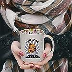 Ceramic Christmas Coffee Mug Dad Alano Espanol Dog Funny Tea Cup 8