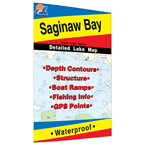 Saginaw Bay Fishing Map