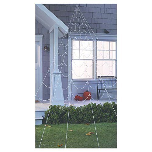 25ft Halloween Mega Spider Web White - Hyde and Eek! -