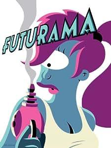 D8308 Turanga Leela Futurama Cool Art 32x24 Print POSTER