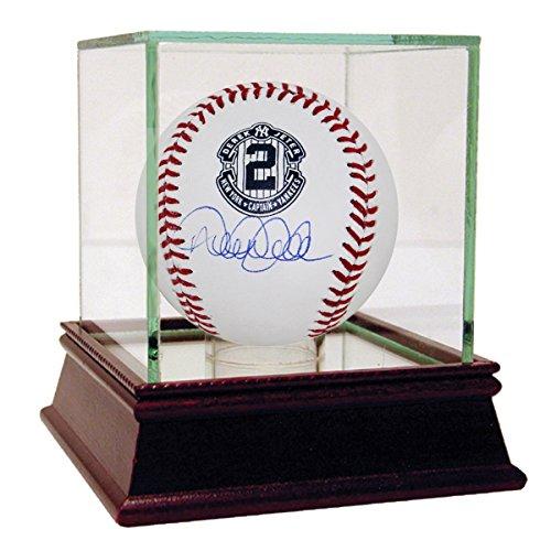 Derek Jeter Autographed Retirement Logo Rawlings Baseball ML