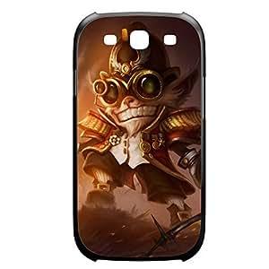 Ziggs-002 League of Legends LoL case cover Samsung Galaxy S5 I9600/G9006/G9008 Plastic Black