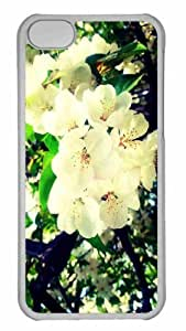 Customized iphone 5C PC Transparent Case - The Song Of Spring Personalized Cover