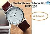 EDIMAEG BMD-100 Bluetooth Watch For mini wireless earpiece as A Full Hands free Talking Kit Really watch Mechanical Watch (Only Watch)