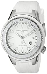 Swiss Legend Men's 21848D-02-WHT Neptune White Dial White Silicone Watch