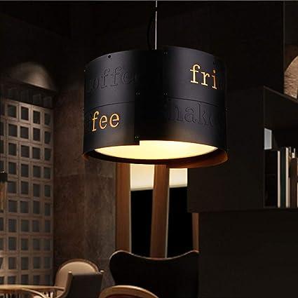 Lámpara de araña Redonda Industrial del Hierro del Vintage ...