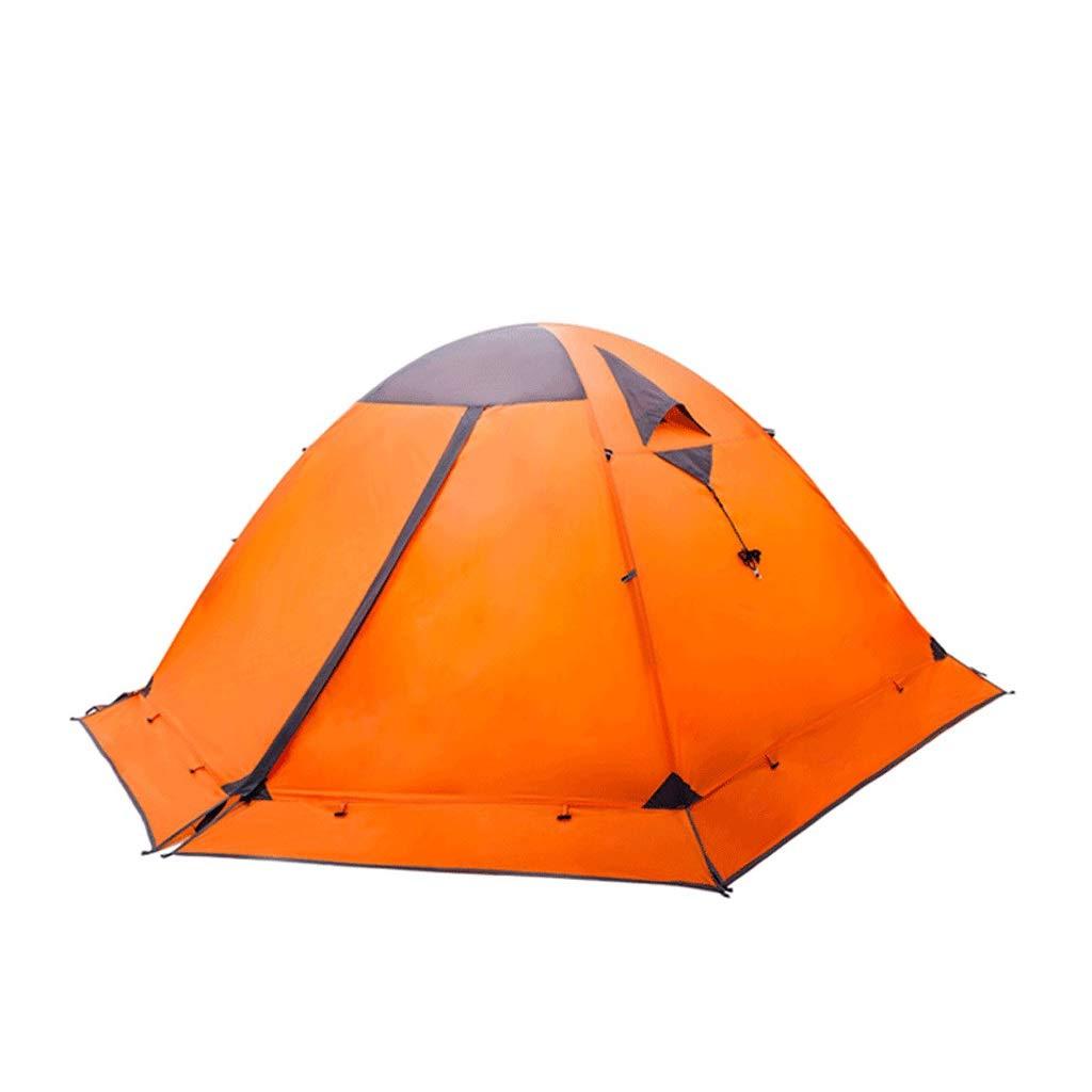 Tienda exterior para 2-3 personas montaña de nieve 115 cm, 105 cm de altura poste de aluminio motín de lluvia lluvia salvaje nieve camping protector solar estación de equitación cuenta de instalación