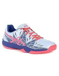 ASICS Gel Fastball 3 Womens Tennis Shoe (Soft Sky/Diva Pink)