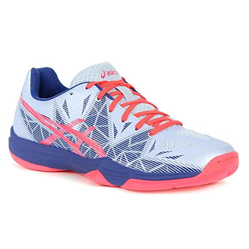 ASICS Women's Gel-Fastball 3 Handball Shoes (8.5 M US, Blue) ()