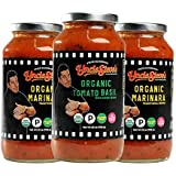 Tomato Sauce by Uncle Steve's - (2 Marinara 1 Tomato Basil) for Spaghetti, Pasta or Pizza