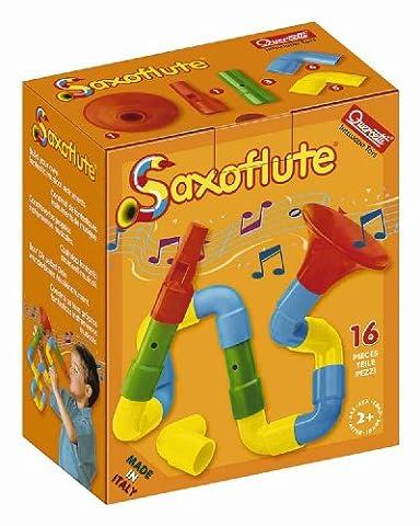 Quercetti Saxoflute – 16 Piece Build Your Own Instrument Set