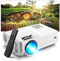 Vidéoprojecteur, Amyneo Mini Projecteur Portable 5500 Lumens Résolution Native 1280*720p, Retroprojecteur avec...