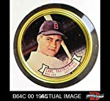 1964 Topps Coins # 26 Carl Yastrzemski Boston Red Sox (Baseball Card) Dean's Cards 7 - NM Red Sox