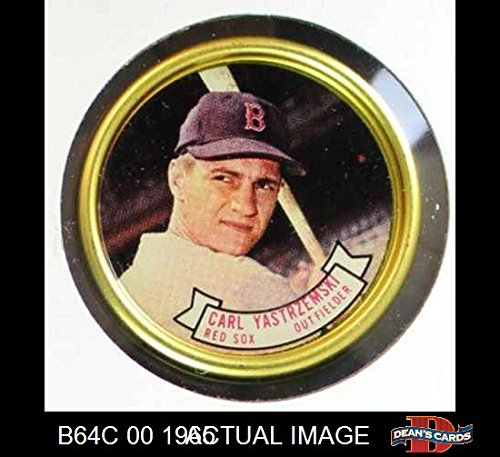 Boston Red Sox Coin Set - 1964 Topps Coins # 26 Carl Yastrzemski Boston Red Sox (Baseball Card) Dean's Cards 7 - NM Red Sox