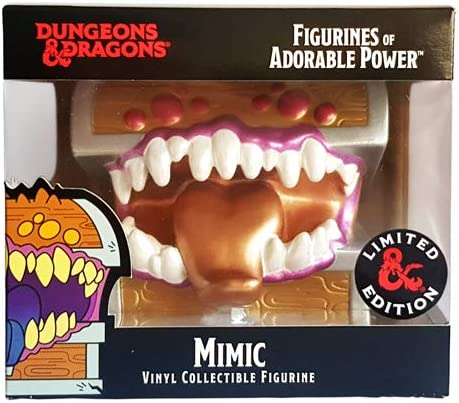 Ultra Pro E-86992-LE Dungeons & Dragons-Figurines of Adorable Power-Mimic-Limited Edition