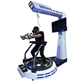 Corgi Charley VR Walking machine price gun shooting VR simulators 9d 7d electric treadmill