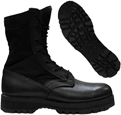 us army boots black