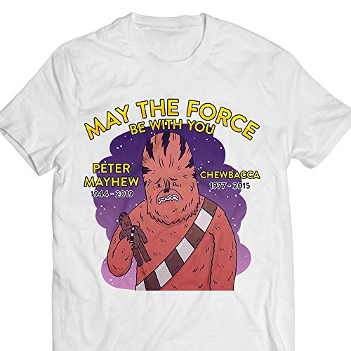 May-The-Force-Be-With-You Petter 1944-2019-Mayhew Customized Handmade Hoodie/Sweater/Long Sleeve/Tank Top/Premium T-shirt