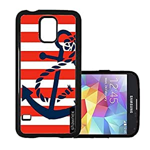Shawnex Springink Red Nautical Stripes And Anchor Thinshell Case Protective S5 Case
