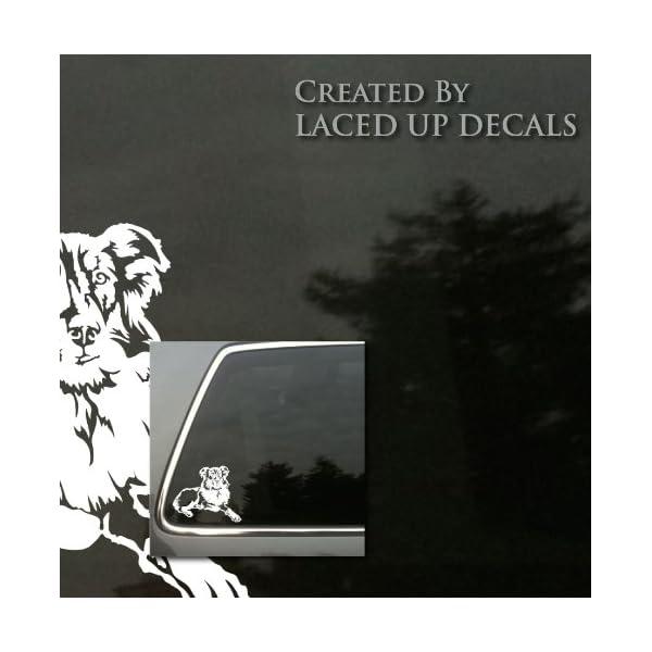 English Shepherd Vinyl Decal 2
