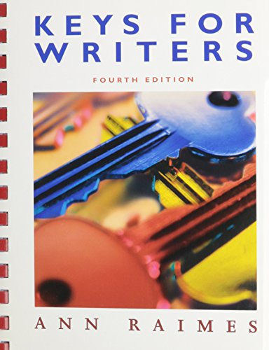 Keys for Writers With Heldesk Guide/cd, 4th Ed + Handbook for College Research, 3rd Ed