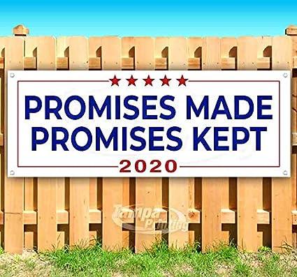 Promises Made Promises Kept 2020 cartel de vinilo resistente ...