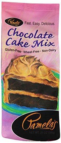 (Pamela's Products VLX-1035 Luscious Chocolate Cake Mix, 21 oz )
