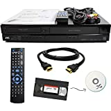 JVC VHS to DVD Recorder VCR Combo w/ Remote, HDMI