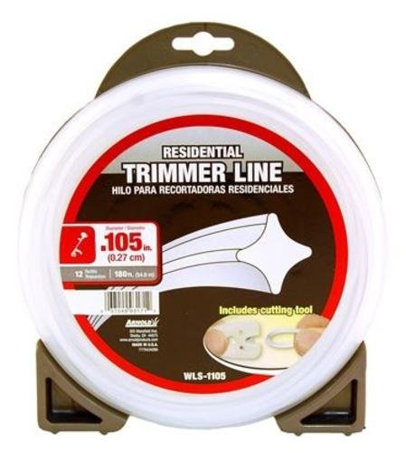 Arnold Trimline .105-Inch x 180-Foot Residential Trimmer Line by Arnold